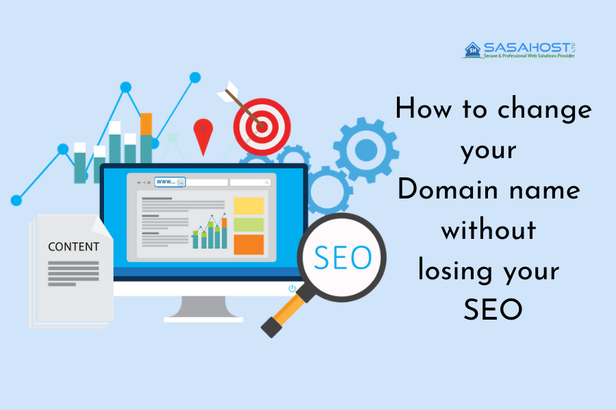 How to change your Domain name without losing SEO