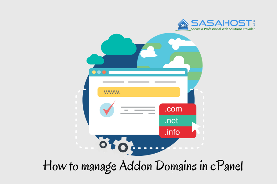 How to manage Addon Domains in cPanel