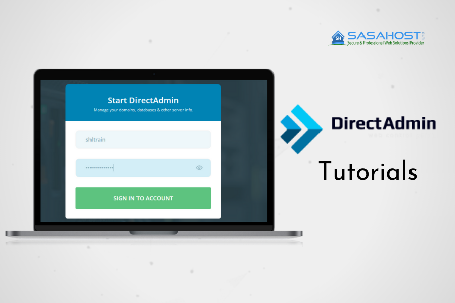 How to log in to Direct Admin