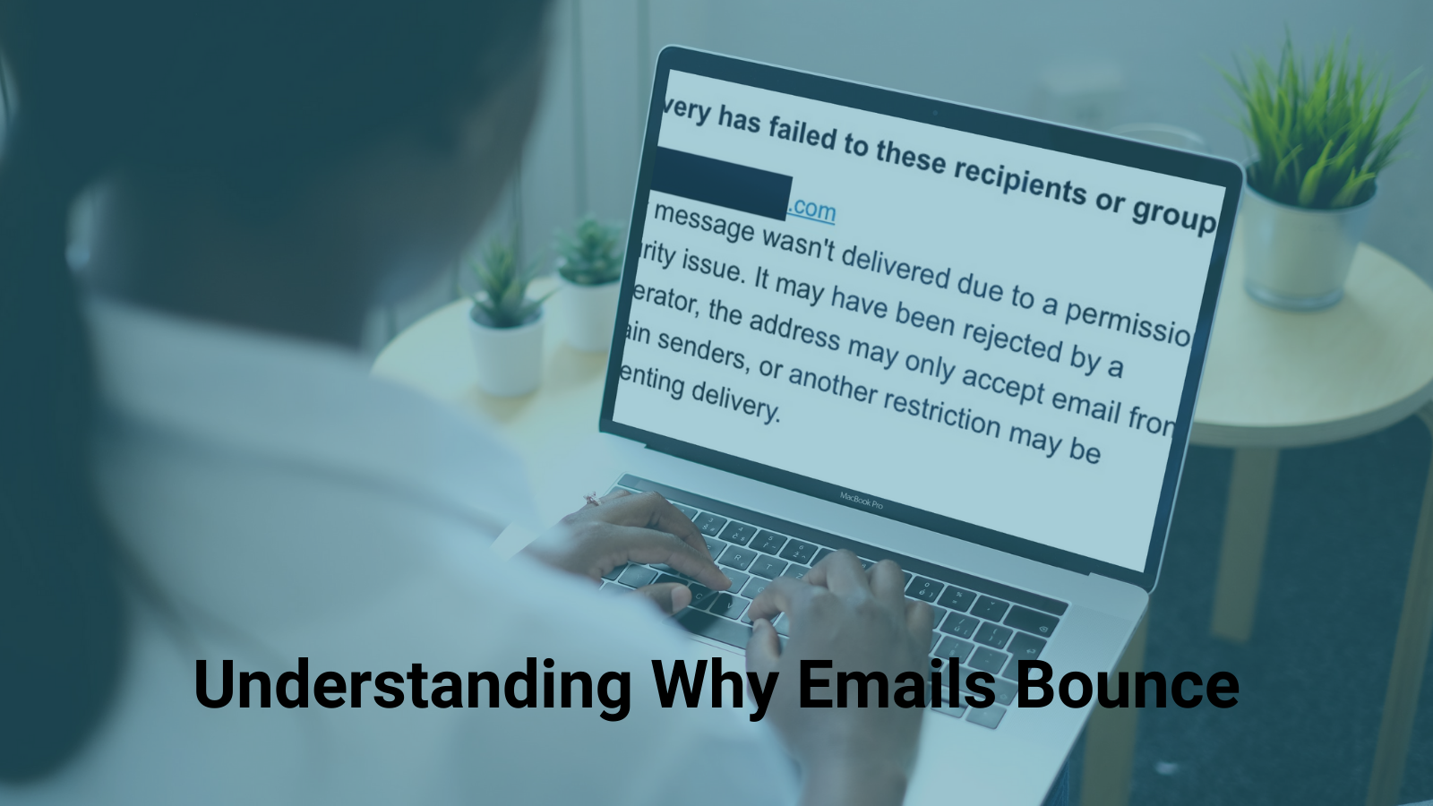 email bounces